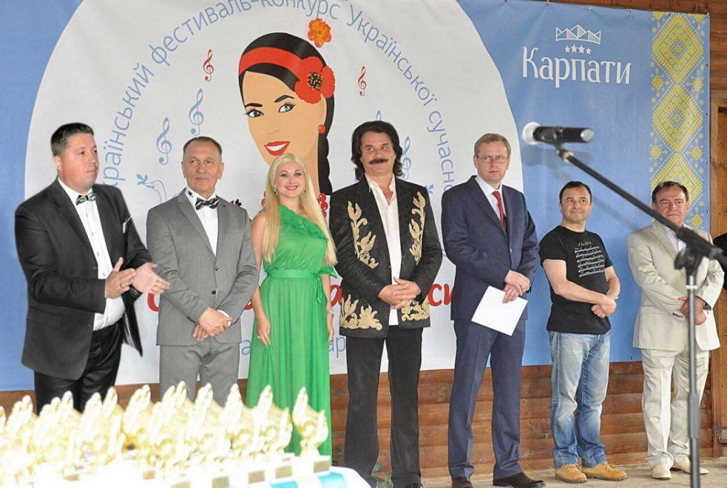 Jury of vocal competition